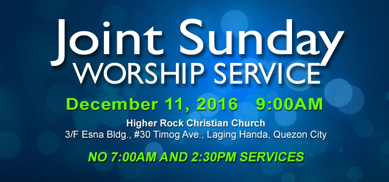 higher rock christian church christian announcements family day Dec 2016