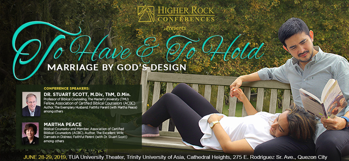 Higher Rock Conferences poster title Marriage by God's Design