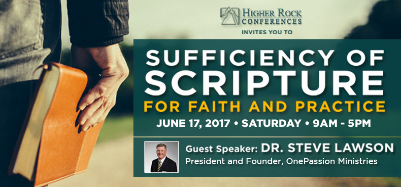 Higher Rock Conferences Sufficiency of Scripture