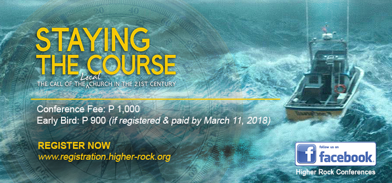 Higher Rock Conferences Staying The Course Registration Fee