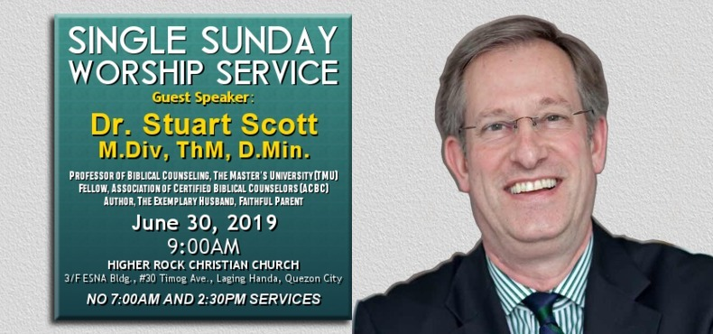 Higher Rock Christian Church Single Worship Service with Dr Stuart Scott June 2019