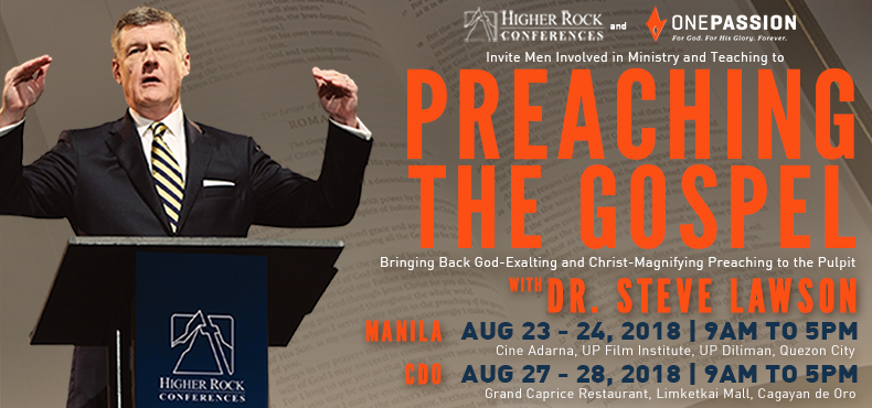 Higher Rock Christian Church Preaching the Gospel Conference Poster