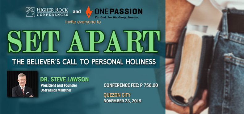 Higher Rock Conferences Set Apar: A Believers