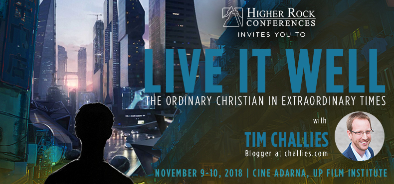 Higher Rock Conferences with Tim Challies this November 2018