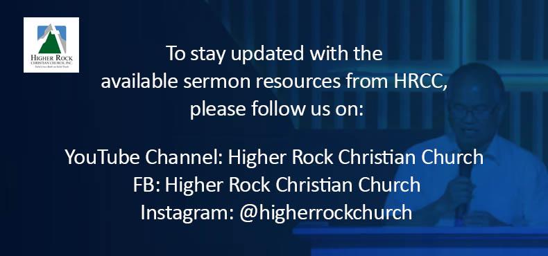 Higher Rock Christian Church - Online Worship Service Slide2